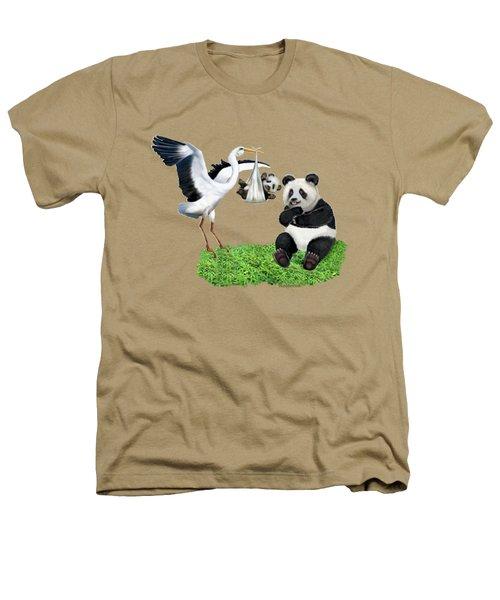 Bundle Of Joy Heathers T-Shirt by Glenn Holbrook
