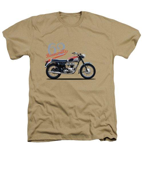 Bonneville T120 1962 Heathers T-Shirt by Mark Rogan