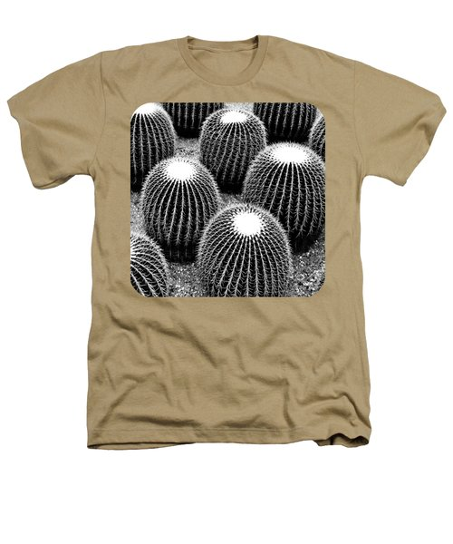 Cacti Heathers T-Shirt by Ethna Gillespie