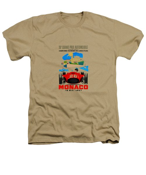 Monaco 1957 Heathers T-Shirt by Mark Rogan