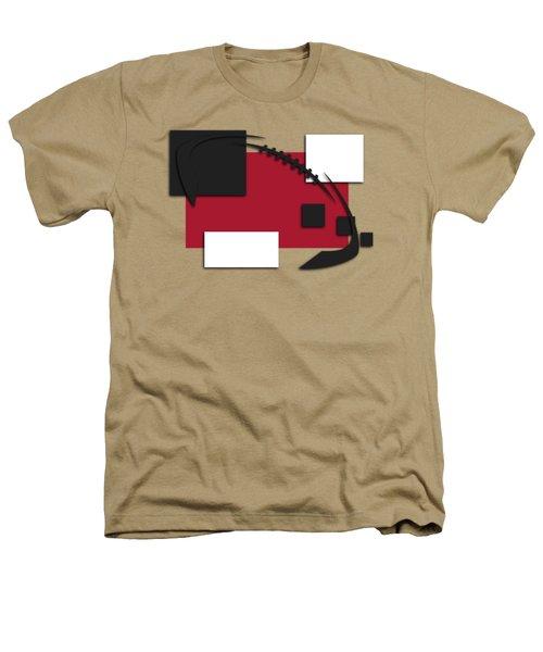 Atlanta Falcons Abstract Shirt Heathers T-Shirt by Joe Hamilton