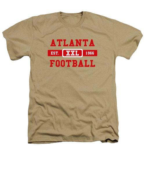 Atlanta Falcons Retro Shirt 2 Heathers T-Shirt by Joe Hamilton