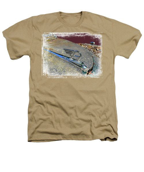 Austin A40 Somerset Flying A Heathers T-Shirt by Nick Kloepping