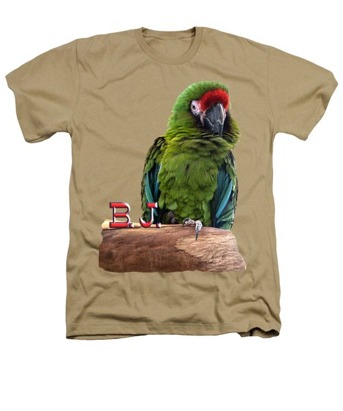 B. J., The Military Macaw Heathers T-Shirt by Zazu's House Parrot Sanctuary