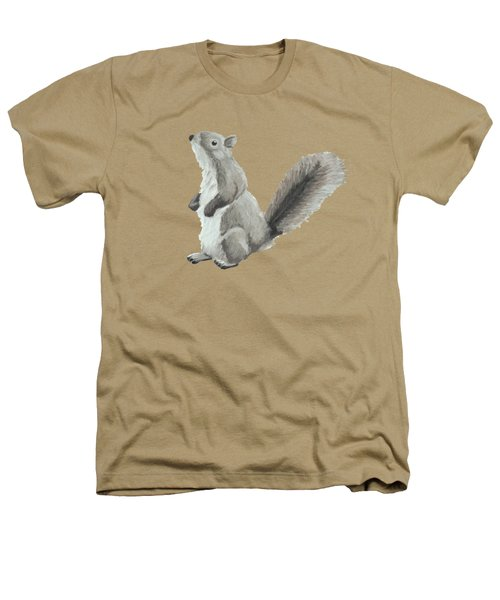 Baby Squirrel Heathers T-Shirt by Dominic White