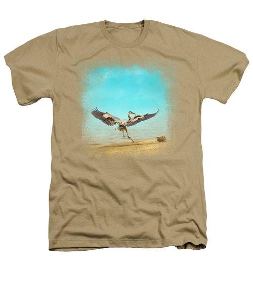Beach Dancing Heathers T-Shirt by Jai Johnson
