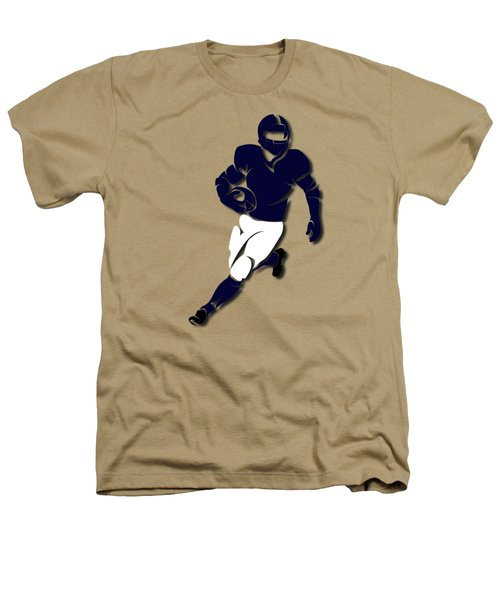 Bears Player Shirt Heathers T-Shirt by Joe Hamilton