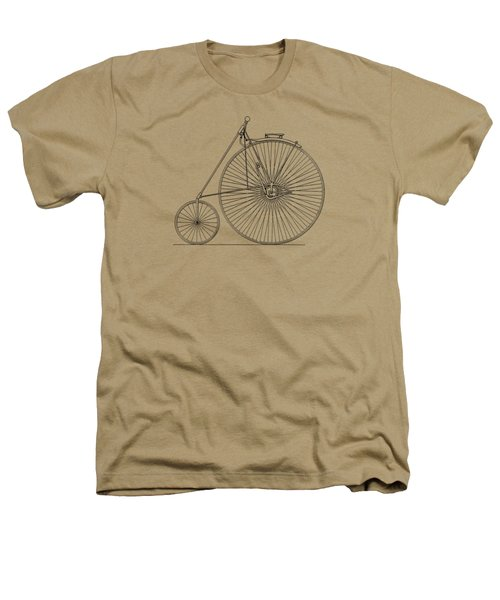 Bicycle 1885 Heathers T-Shirt by Mark Rogan