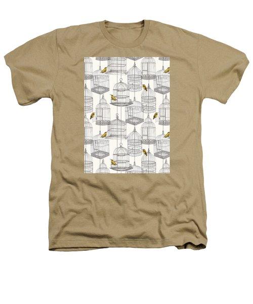 Birdcages Heathers T-Shirt by Stephanie Davies