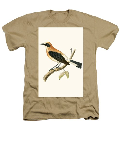 Black Eared Wheatear Heathers T-Shirt by English School