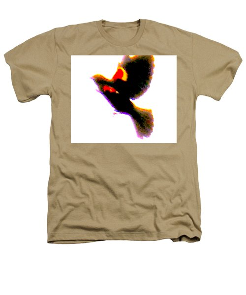 Blackbird Impressionism Heathers T-Shirt by Veronica M Gabet
