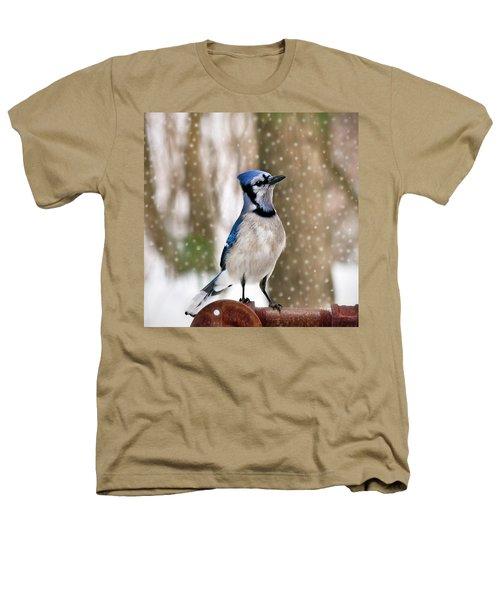Blue For You Heathers T-Shirt by Evelina Kremsdorf