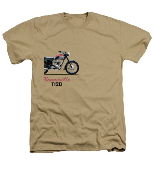 Bonneville T120 1962 Heathers T-Shirt by Mark Rogan