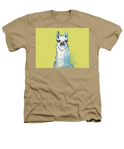 Bright Mustard Llama Heathers T-Shirt by Niya Christine