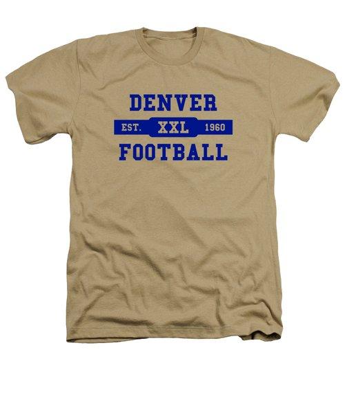 Broncos Retro Shirt Heathers T-Shirt by Joe Hamilton