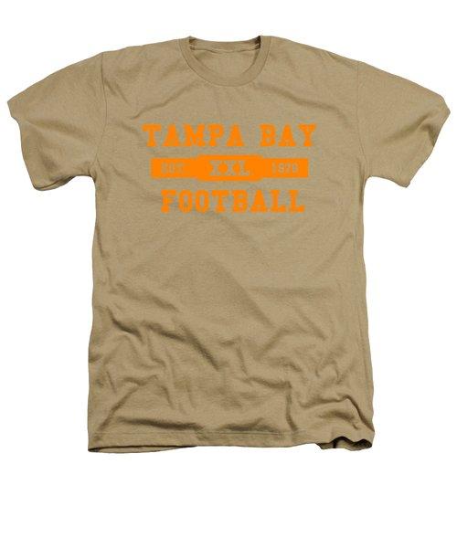 Buccaneers Retro Shirt Heathers T-Shirt by Joe Hamilton