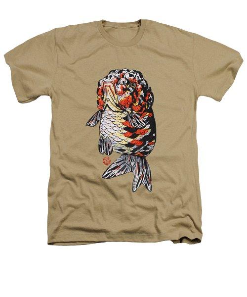 Calico Kirin Ranchu Heathers T-Shirt by Shih Chang Yang