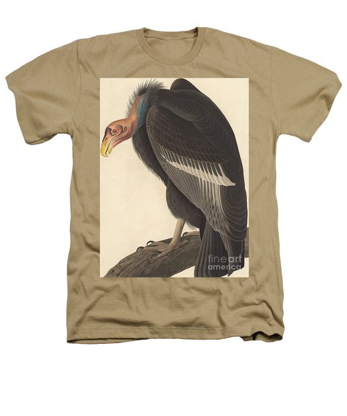 Californian Vulture Heathers T-Shirt by John James Audubon