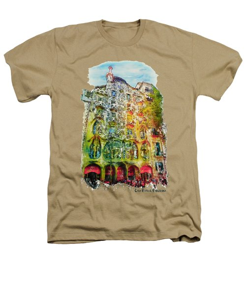 Casa Batllo Barcelona Heathers T-Shirt by Marian Voicu