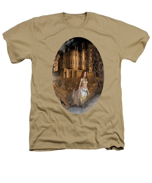 Centaur Castle Heathers T-Shirt by G Berry