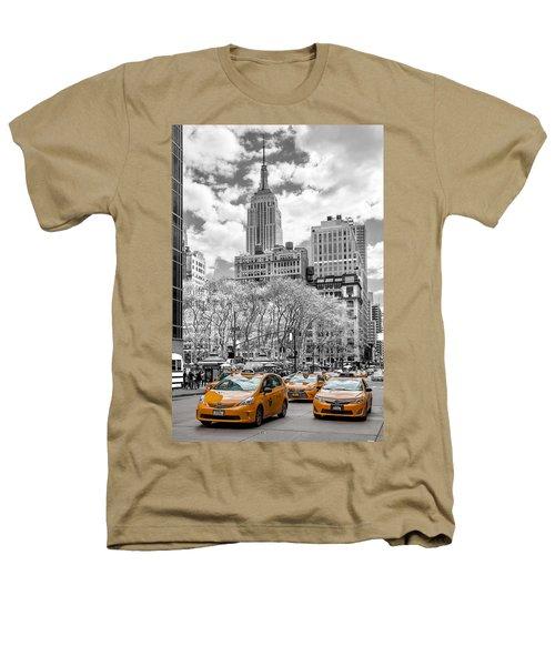 City Of Cabs Heathers T-Shirt by Az Jackson