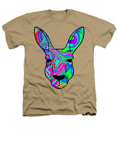 Colorful Kangaroo Heathers T-Shirt by Chris Butler