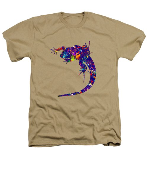 Colourful Lizard -2- Heathers T-Shirt by Bamalam  Photography