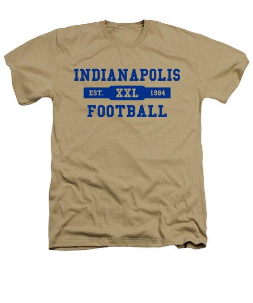 Colts Retro Shirt Heathers T-Shirt by Joe Hamilton