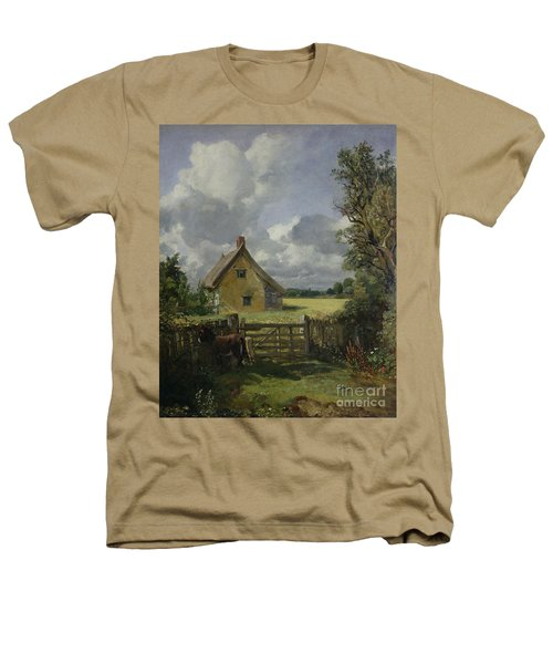 Cottage In A Cornfield Heathers T-Shirt by John Constable