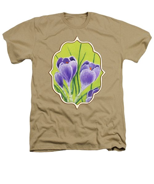 Crocus Heathers T-Shirt by Anastasiya Malakhova