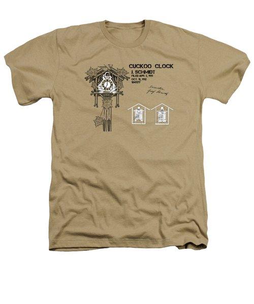 Cuckoo Clock Patent Art Heathers T-Shirt by Justyna JBJart
