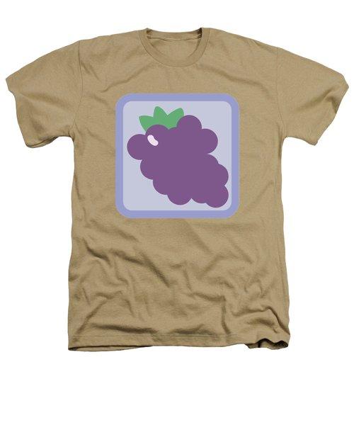 Cute Grapes Heathers T-Shirt by Caroline Goh