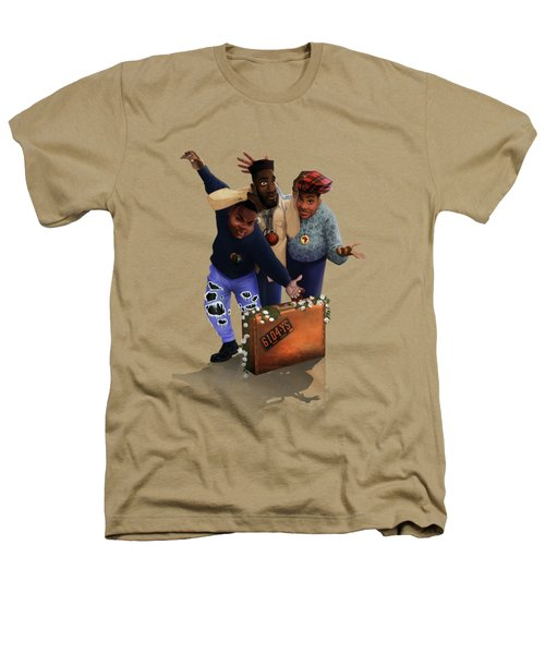 De La Soul Heathers T-Shirt by Nelson  Dedos Garcia