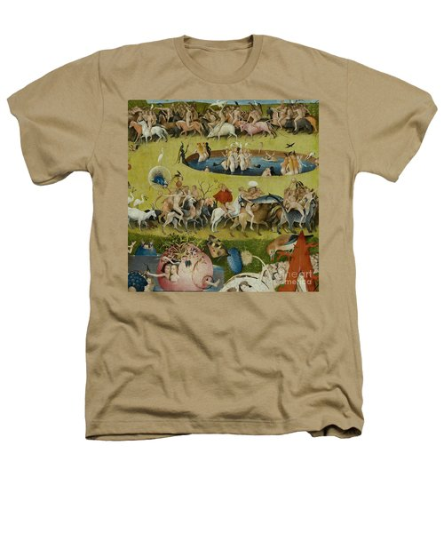 Detail From The Central Panel Of The Garden Of Earthly Delights Heathers T-Shirt by Hieronymus Bosch