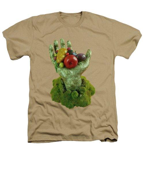 Divine Nutrition Heathers T-Shirt by Przemyslaw Stanuch