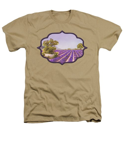 Drome Provence Heathers T-Shirt by Anastasiya Malakhova