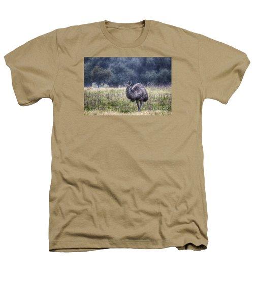 Early Morning Stroll Heathers T-Shirt by Douglas Barnard