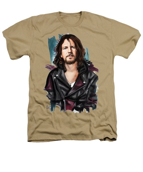 Eddie Vedder Heathers T-Shirt by Melanie D