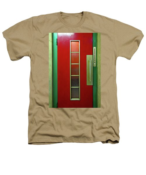 Elevator Door 	 Heathers T-Shirt by Ethna Gillespie
