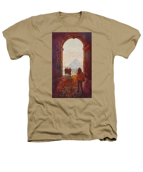 Evening At The Louvre Heathers T-Shirt by Jenny Armitage