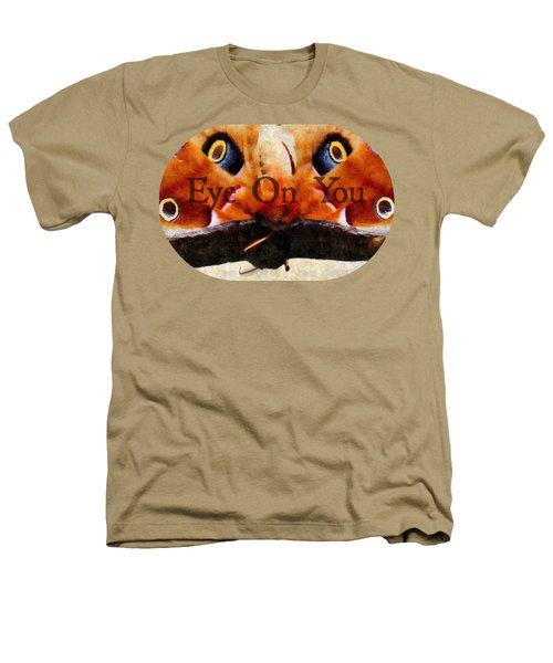 Eye On You - Silk Paint Heathers T-Shirt by Anita Faye