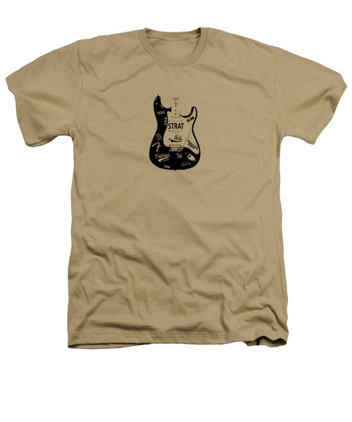 Fender Stratocaster 54 Heathers T-Shirt by Mark Rogan