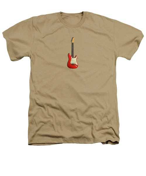 Fender Stratocaster 63 Heathers T-Shirt by Mark Rogan