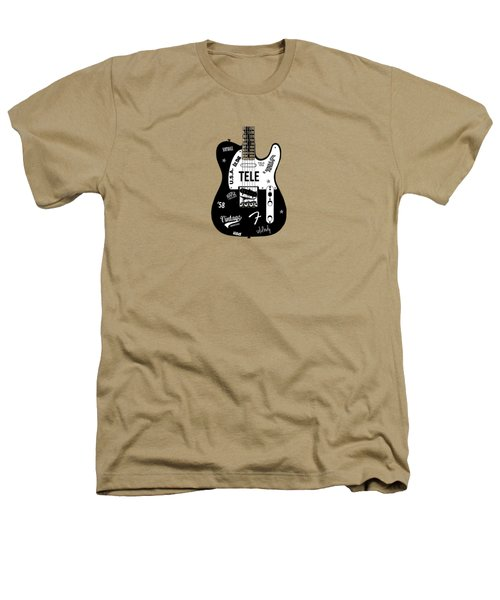 Fender Telecaster 58 Heathers T-Shirt by Mark Rogan