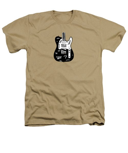 Fender Telecaster 64 Heathers T-Shirt by Mark Rogan