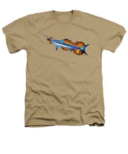 Fisholin V1 - Instrumental Fish Heathers T-Shirt by Cersatti