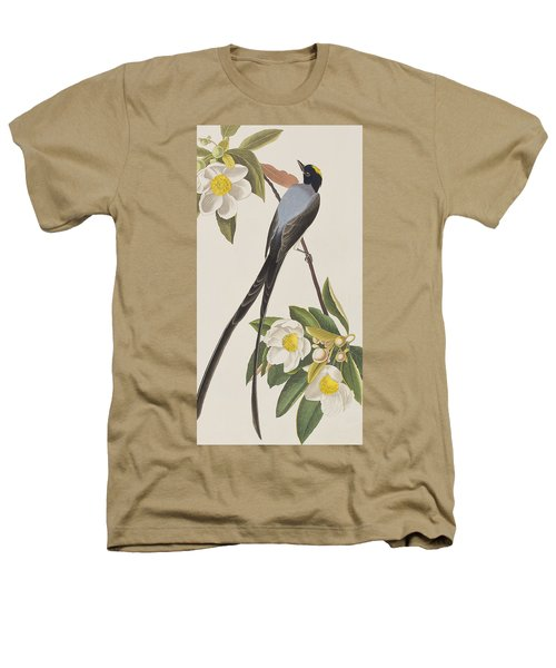 Fork-tailed Flycatcher  Heathers T-Shirt by John James Audubon