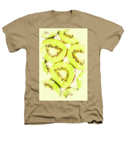 Full Frame Shot Of Fresh Kiwi Slices With Seeds Heathers T-Shirt by Jorgo Photography - Wall Art Gallery