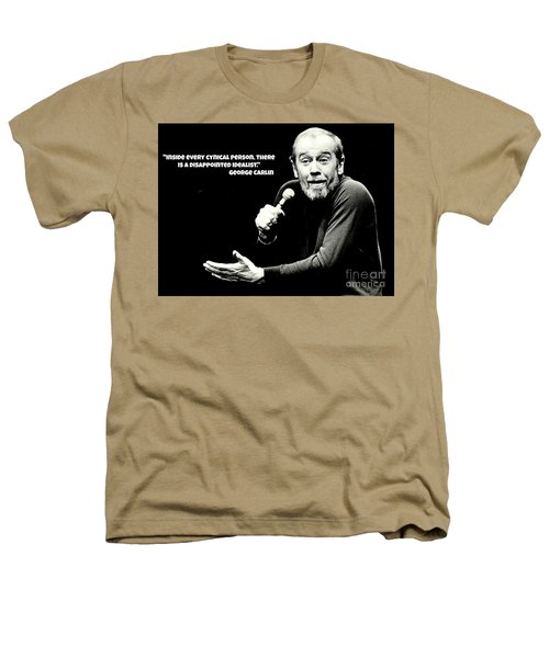 George Carlin Art  Heathers T-Shirt by Pd