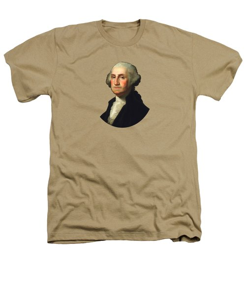 George Washington - Rembrandt Peale Heathers T-Shirt by War Is Hell Store